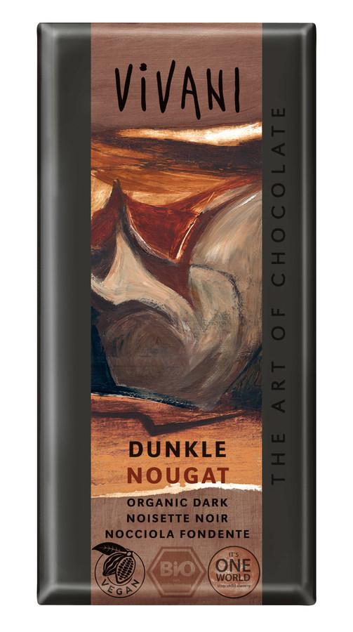 Schokolade Dunkle Nougat Schokolade (100g)
