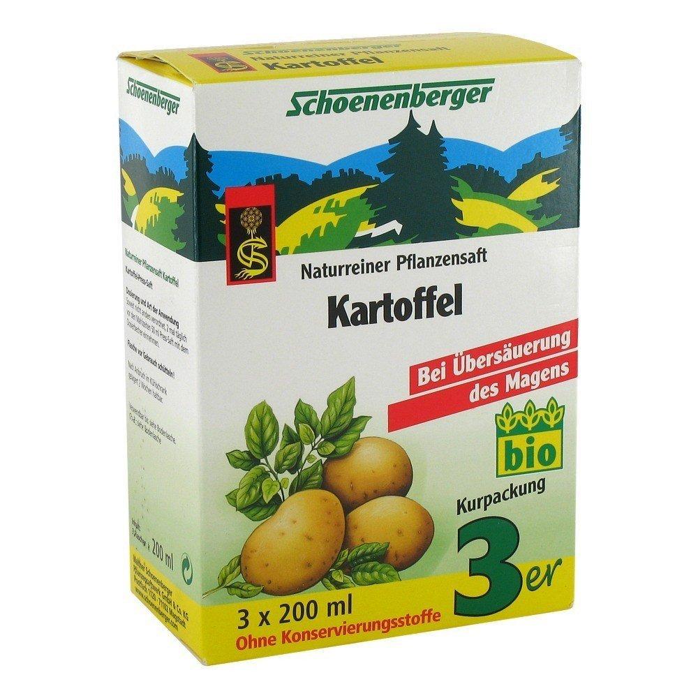 Kartoffel Naturreiner Pflanzensaft (3x200ml)